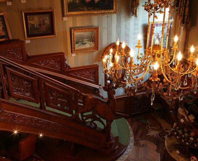 Вид царской лестницы