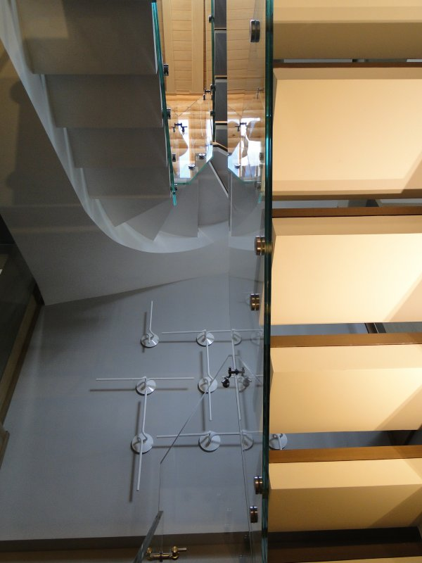 П-Образная бетонная лестница киев