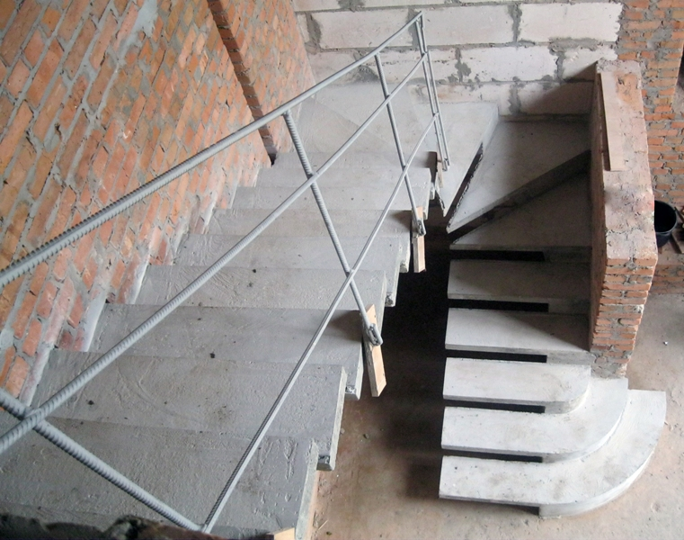 Лестница п-образной формы