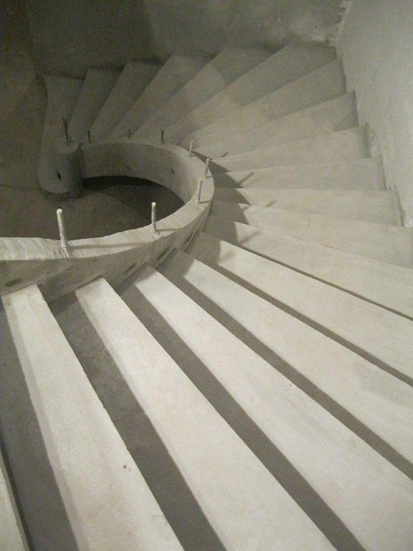 Конструкция лестницы однотетивная