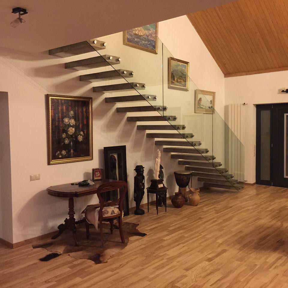 Прямая лестница - виды лестниц