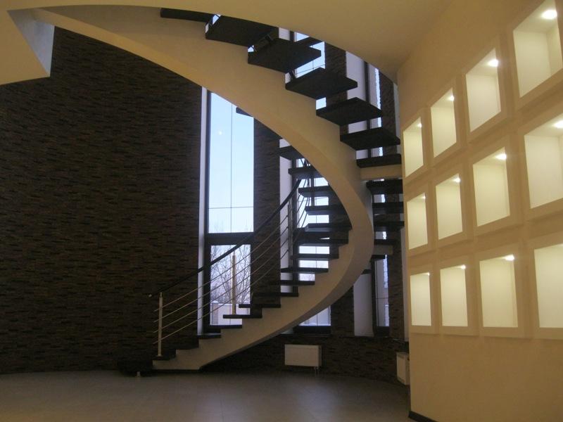 лестница типа конструкции центральный косоур