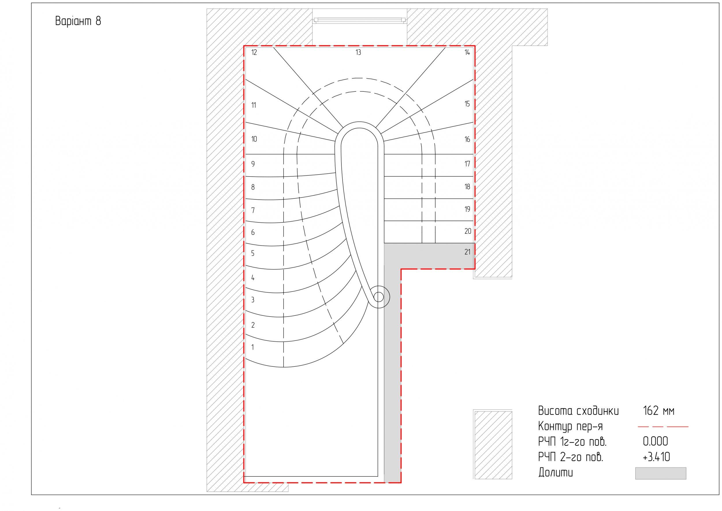 проектування драбини