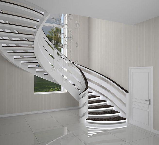 тетивная лестница