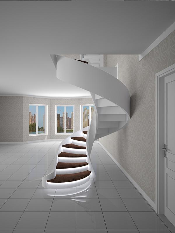 зеркальная лестница
