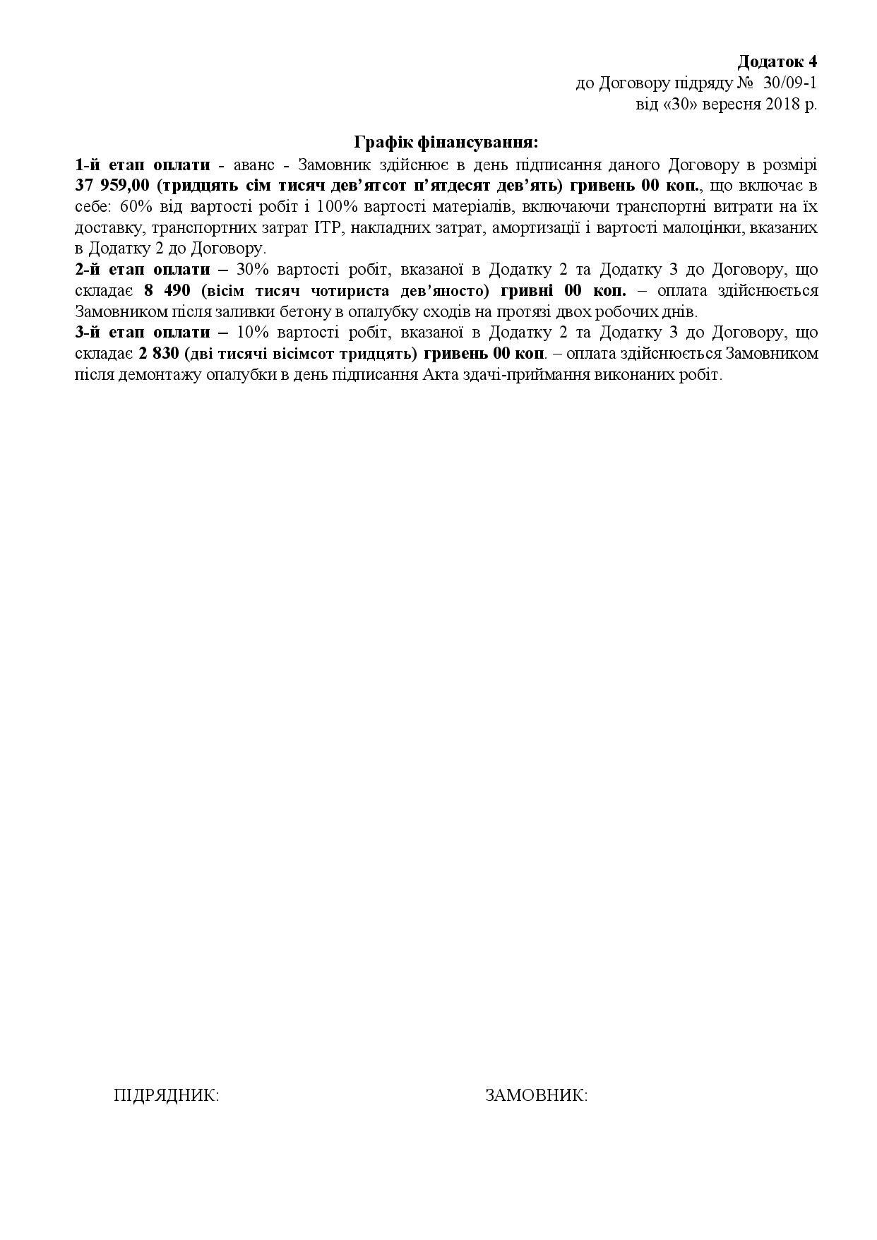Зразок договору сторінка 6