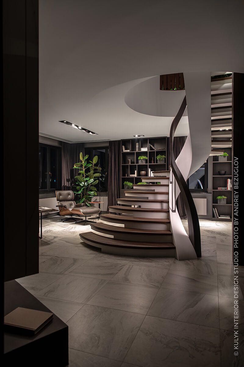 лестница в интерьере внутренний косоур