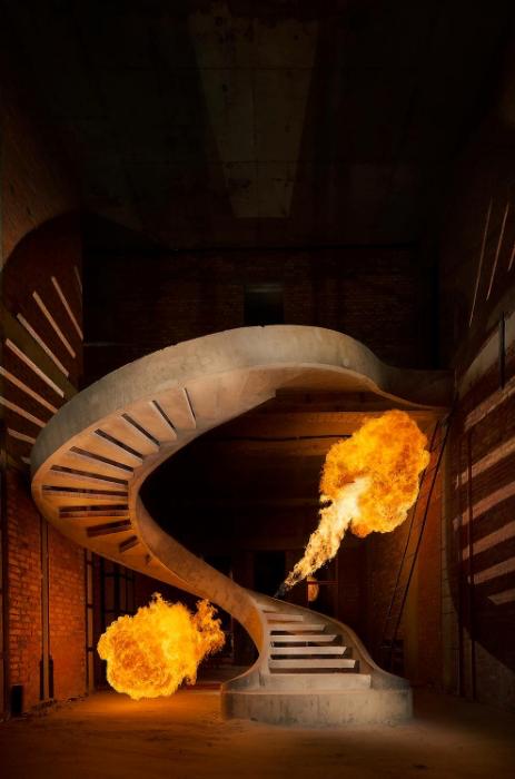 винтовая лестница двухтетивного типа картинка киев