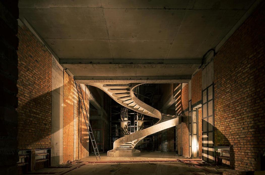 винтовая лестница двухтетивного типа изображение киев