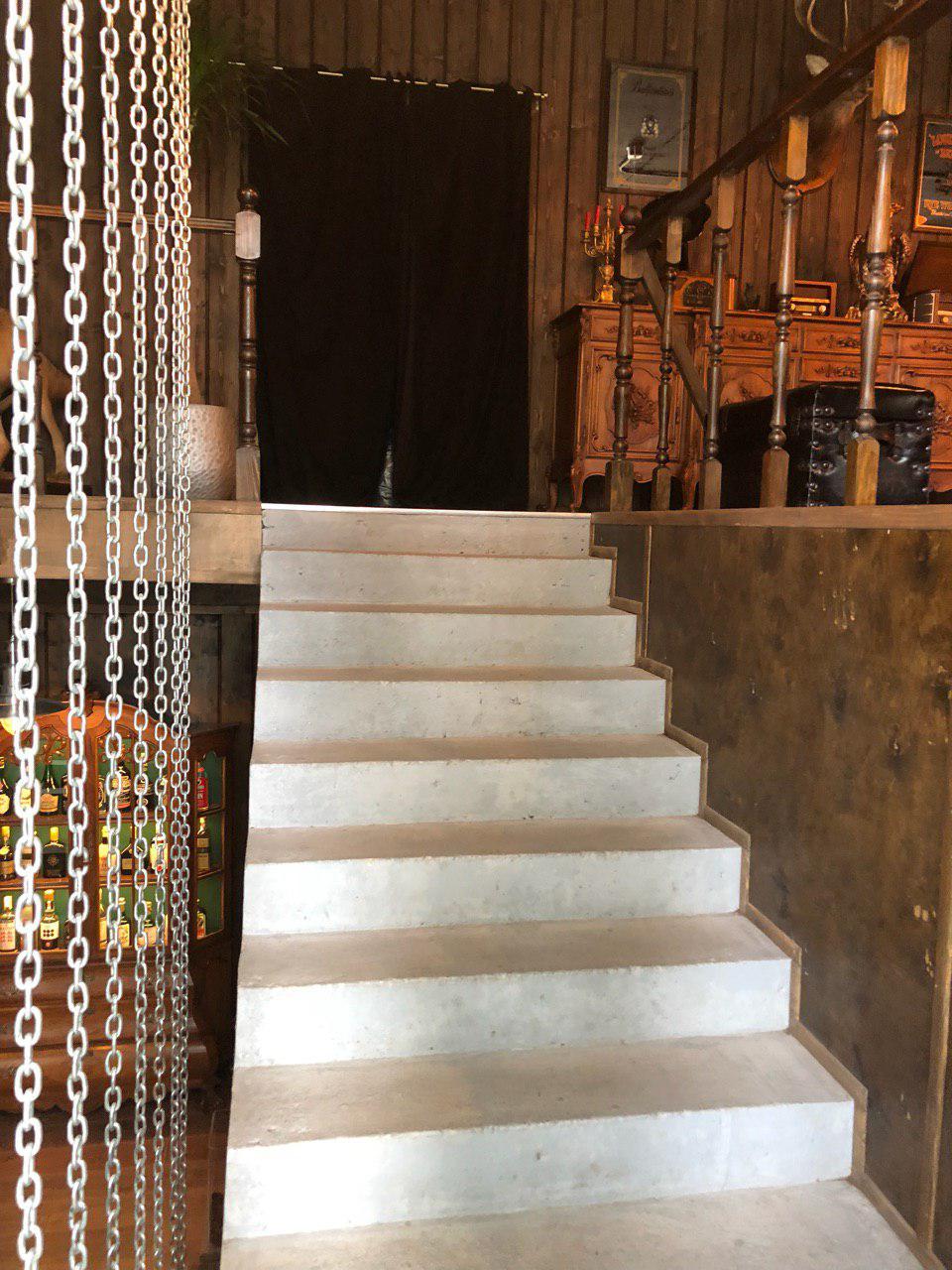 П-подібні сходи з майданчиком