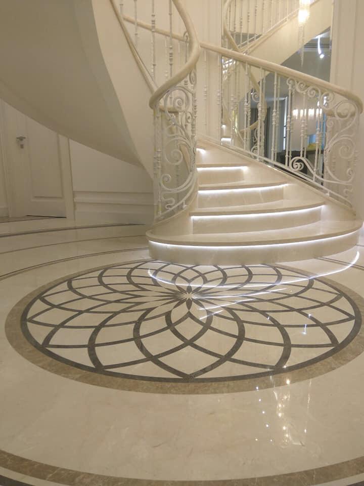 Новопечерські Липки бетонні сходи