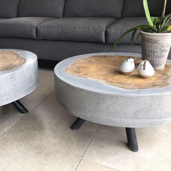 бетонный стол 2