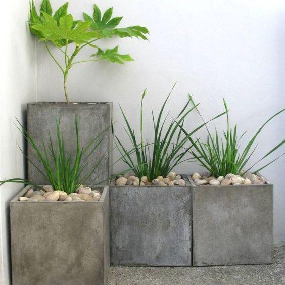 бетонные вазоны